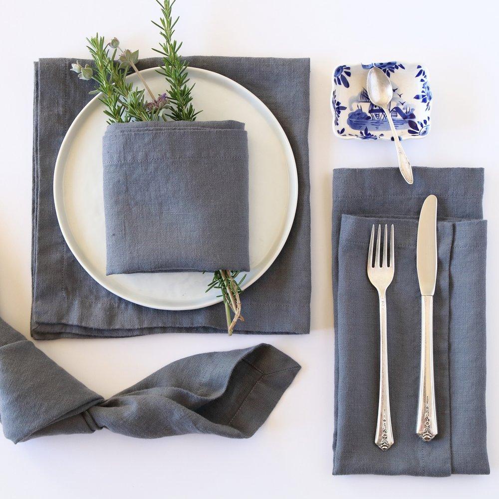 Slate Grey Napkin