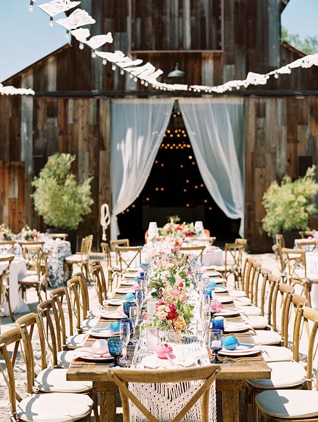 Vibrant Vineyard Wedding