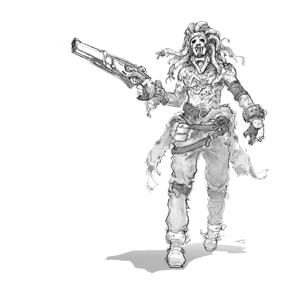 Concept Art House's finalized Cronos sketch