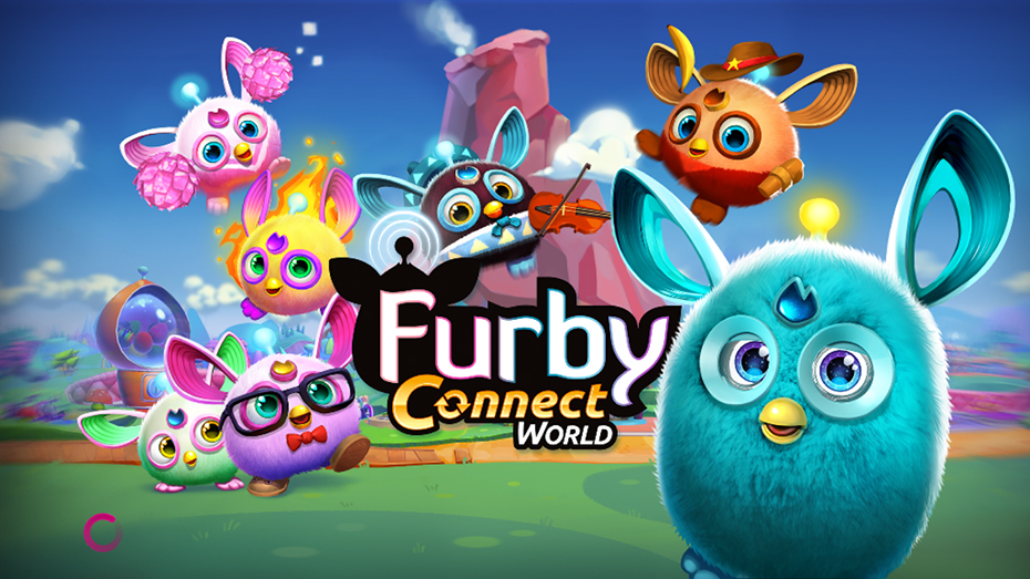 One of Concept Art House's marketing pieces for Hasbro's Furby Connect.