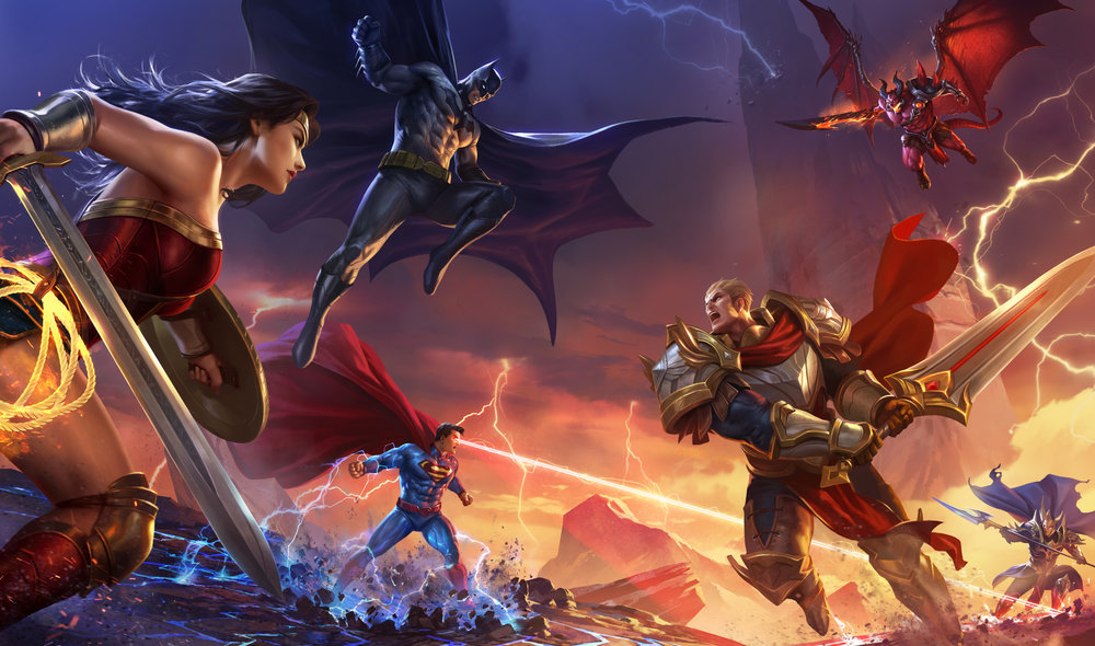 Arena of Valor   Tencent's #1 grossing game launches in Western market with Concept Art House illustrations and art work on proud display.