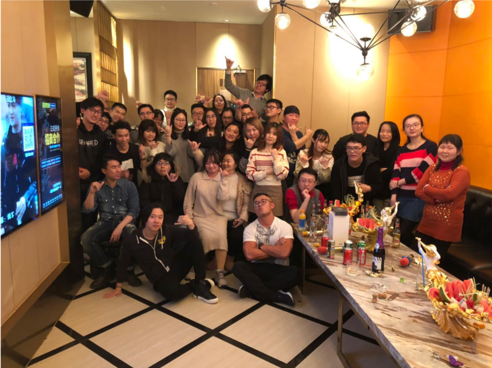 CAH Shanghai team celebrates the Year of the Pig!
