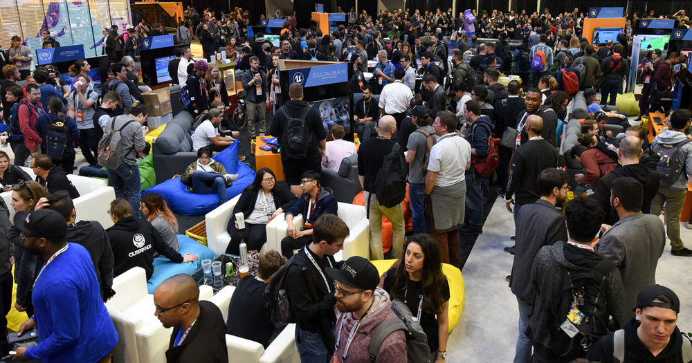 28,000 attendees made the show floor buzz with excitement