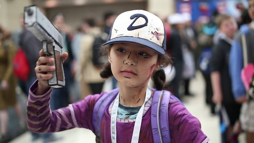 8a25ef2f839 Clementine is this week s choice. This young cosplayer clearly nailed the  look of Clementine from season one. The hat