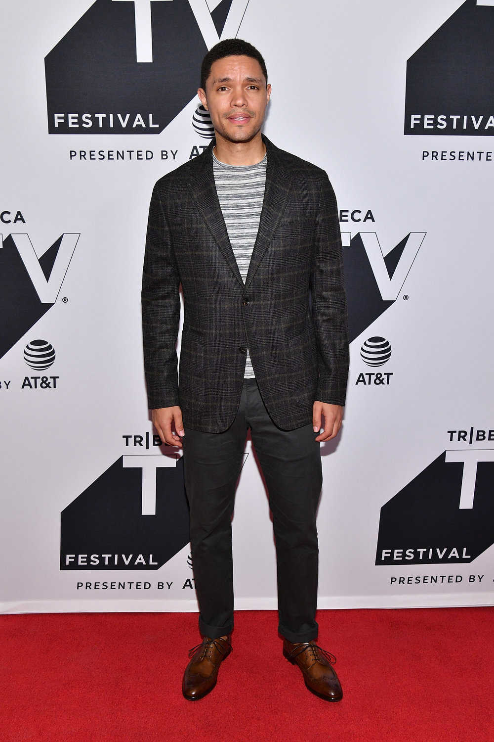 Trevor Noah attends the Tribeca TV Festival conversation with Trevor Noah and the writers of the Daily Show at Cinepolis Chelsea on September 24, 2017 in New York City. (Photo by Dia Dipasupil.Getty Images for Tr.jpg