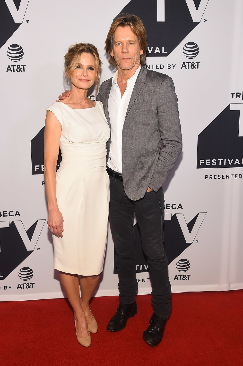 Kyra Sedgwick and Kevin Bacon attend the Tribeca TV Festival series premiere of Ten Days in the Valley at Cinepolis Chelsea on September 24, 2017 in New York City. (Photo by Ben GabbeGetty Images for Tribeca  (1).jpg