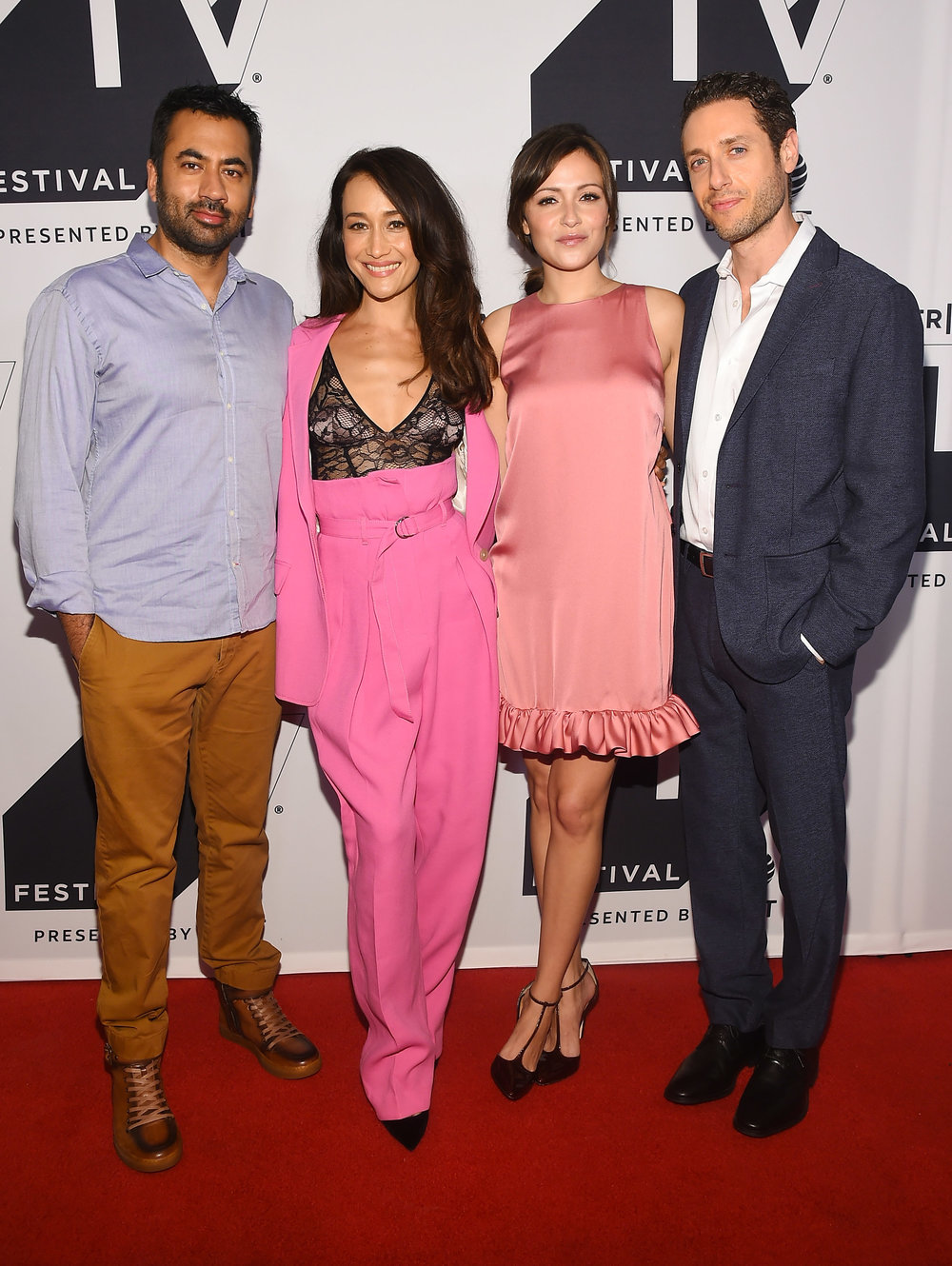 Kal Penn, Maggie Q, Italia Ricci and Paulo Costanzo attend the Tribeca TV Festival season premiere of Designated Survivor at Cinepolis Chelsea on September 24, 2017 in New York City. (Photo by Ben GabbeGetty Imag.jpg