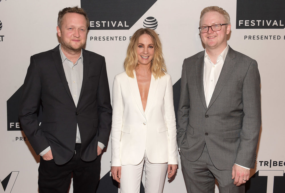 Harry Williams, Joanne Froggatt and Jack Williams attend the Tribeca TV Festival series premiere of Liar at Cinepolis Chelsea on September 23, 2017 in New York City. (Photo by Jason KempinGetty Images for Tribeca.jpg