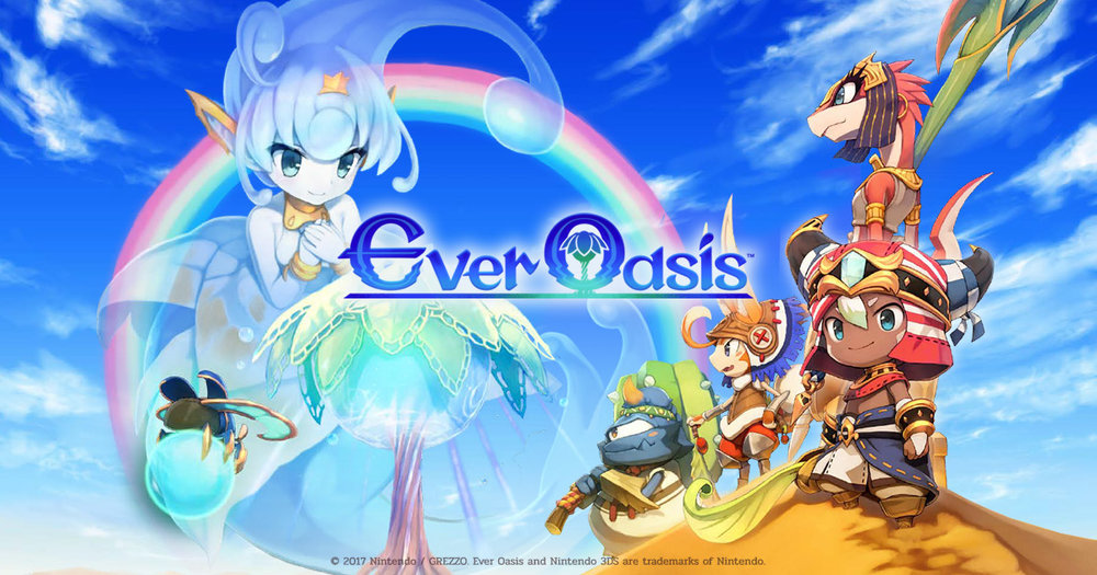 Ever Oasis (Game Review)