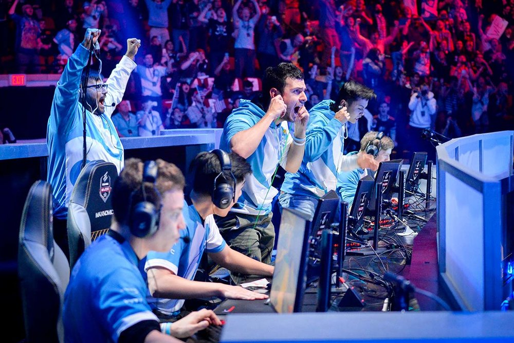 Cloud9 wins Map 2. Photos courtesy of Turner Sports