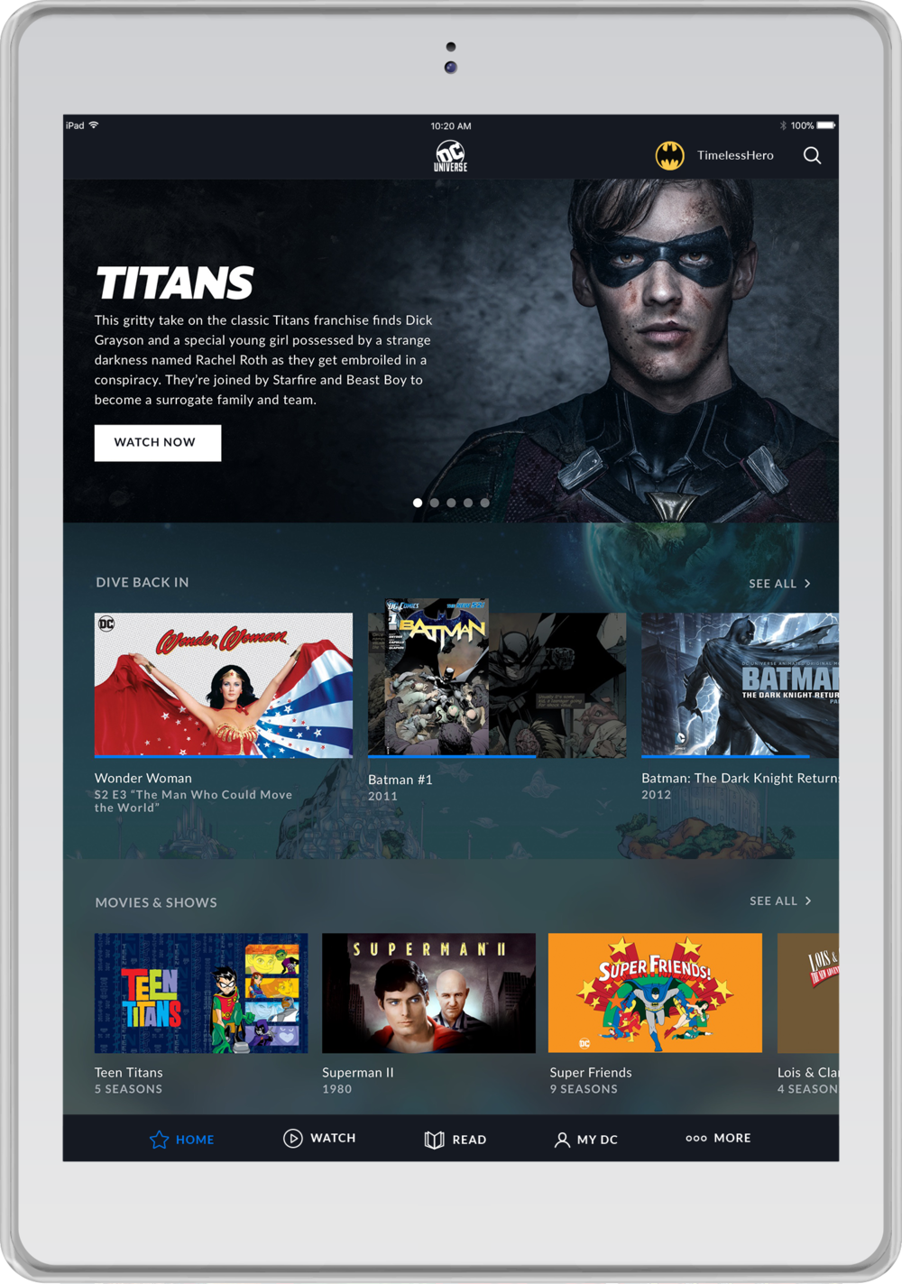 DC UNIVERSE Home Screen .png