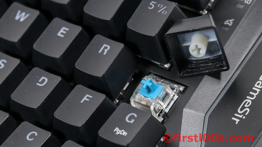 Built with mechanical keys