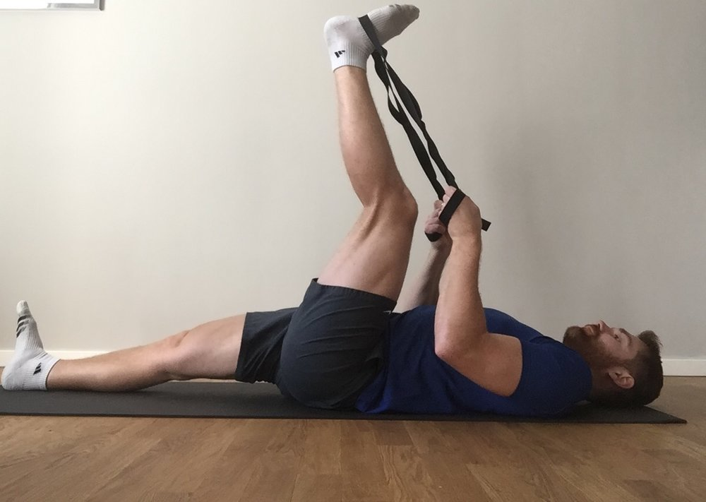 Image 1 - Passive-Static Hamstring Stretch