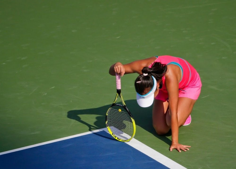 Cramps have a long history in tennis...can we prevent them?