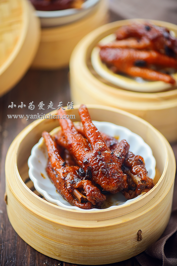 how to eat chicken feet dim sum