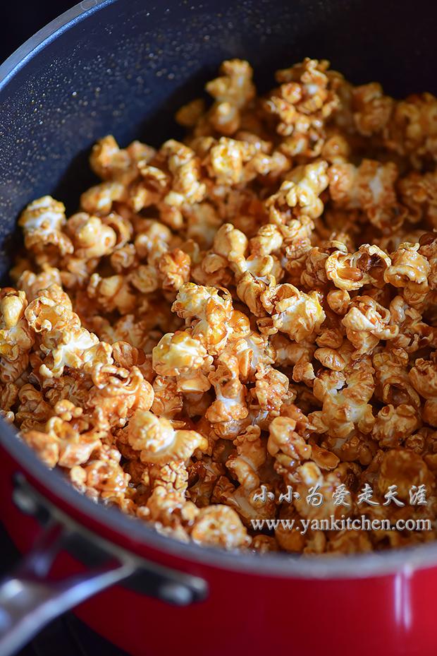 Caramel Popcorns Yankitchen