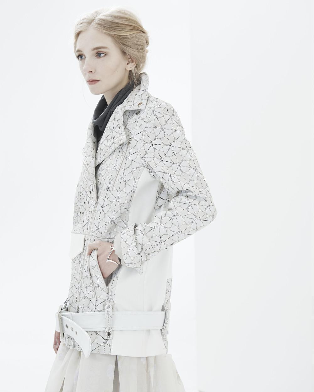 Ali Rose 'Arlene' Moto Jacket