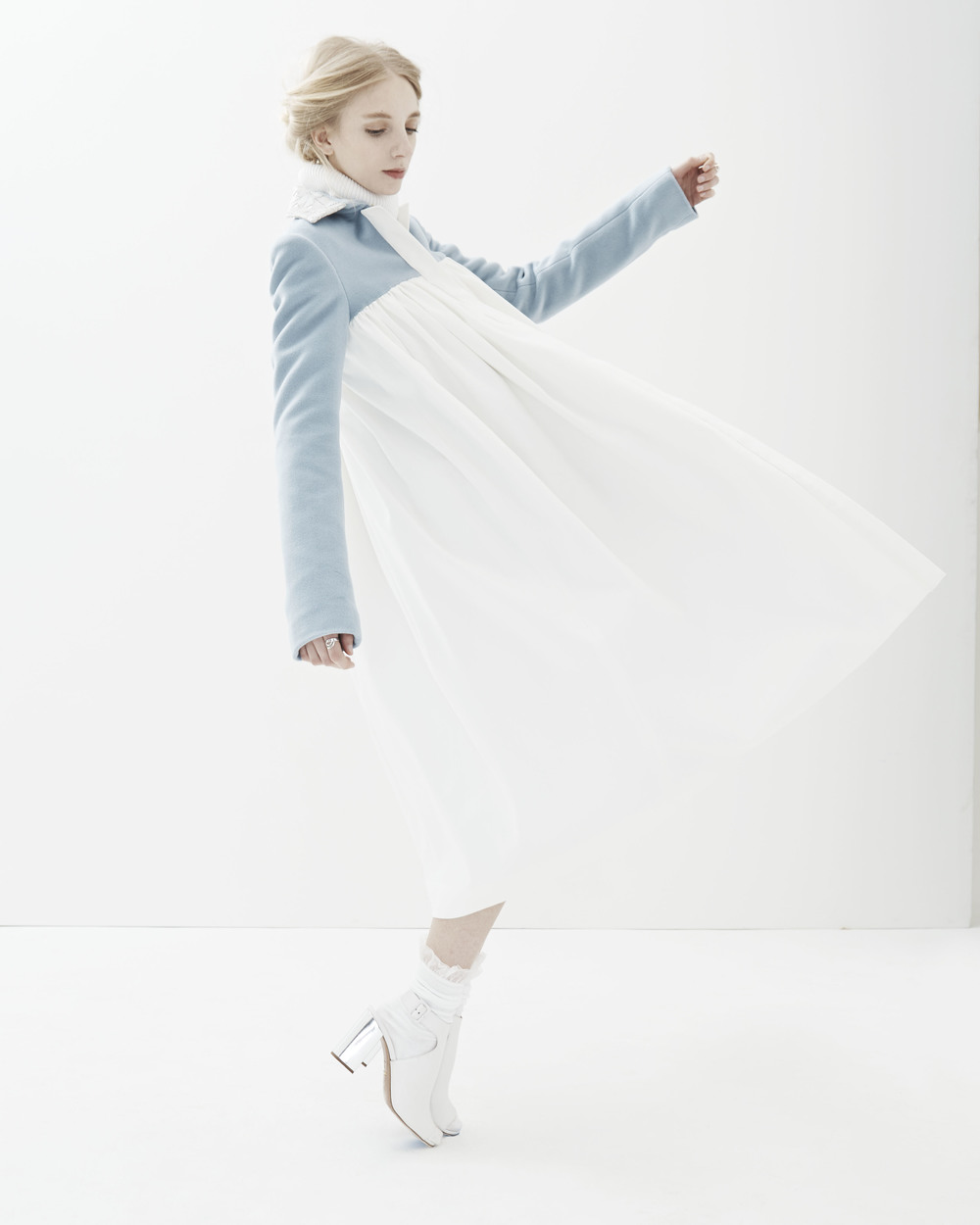Ali Rose 2015 Look 5 'Therese' Swing Coat