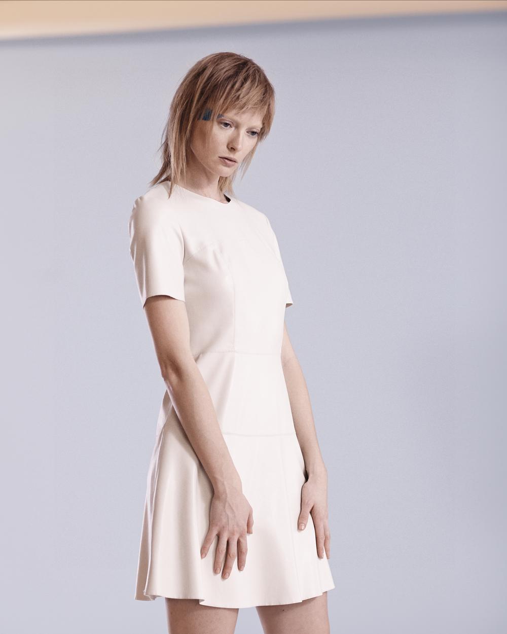 Theysken's Theory  Dress / Gerard Sandal /  Obsessive Compulsive Glitter