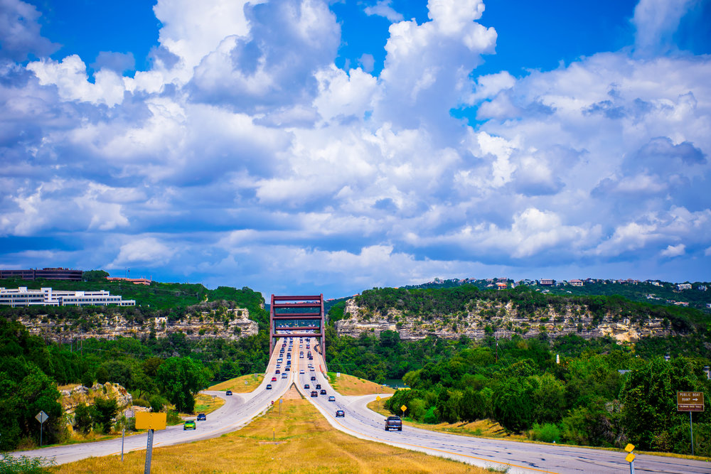 Highway 360 bridge, austin