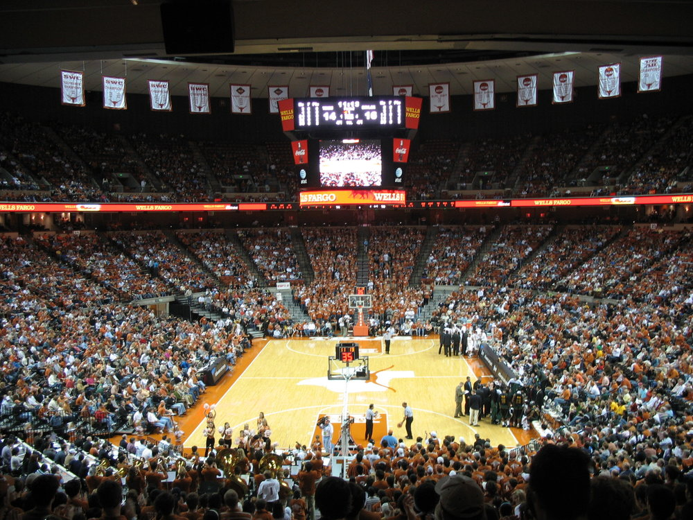 UT Basketball Frank Erwin Center.JPG