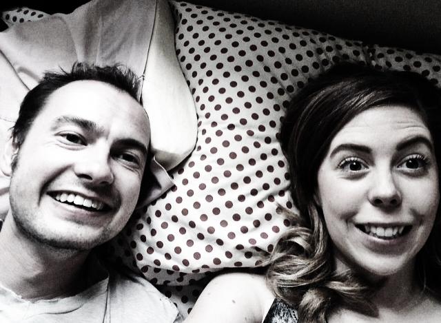 Jordan Foisy and his bae, Amanda Brooke Perrin
