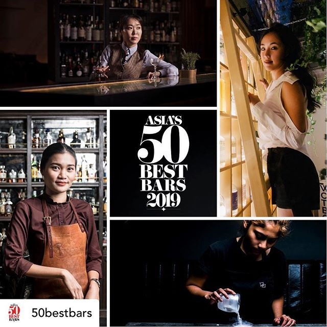 Excited to be part of the all female panel at #50besttalks @50bestbars in Singapore this May! We've come a long way in the past decade, with still a ways to go before we overcome certain challenges and stereotypes in the industry (and trust me, it'll make the [booze] world a better place when we do 😉). I'll touch on a few of these on my Instastories on International Women's Day this Friday! In the meantime, a big shoutout to all the women kicking ass behind the bar, behind the scenes, and behind the stills! #BalanceForBetter
