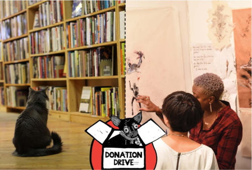 buy books + support PS1: The Haunted Bookshop's 2018 donation drive benefits PS1