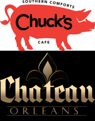 Chuck's website Chateau Orleans website