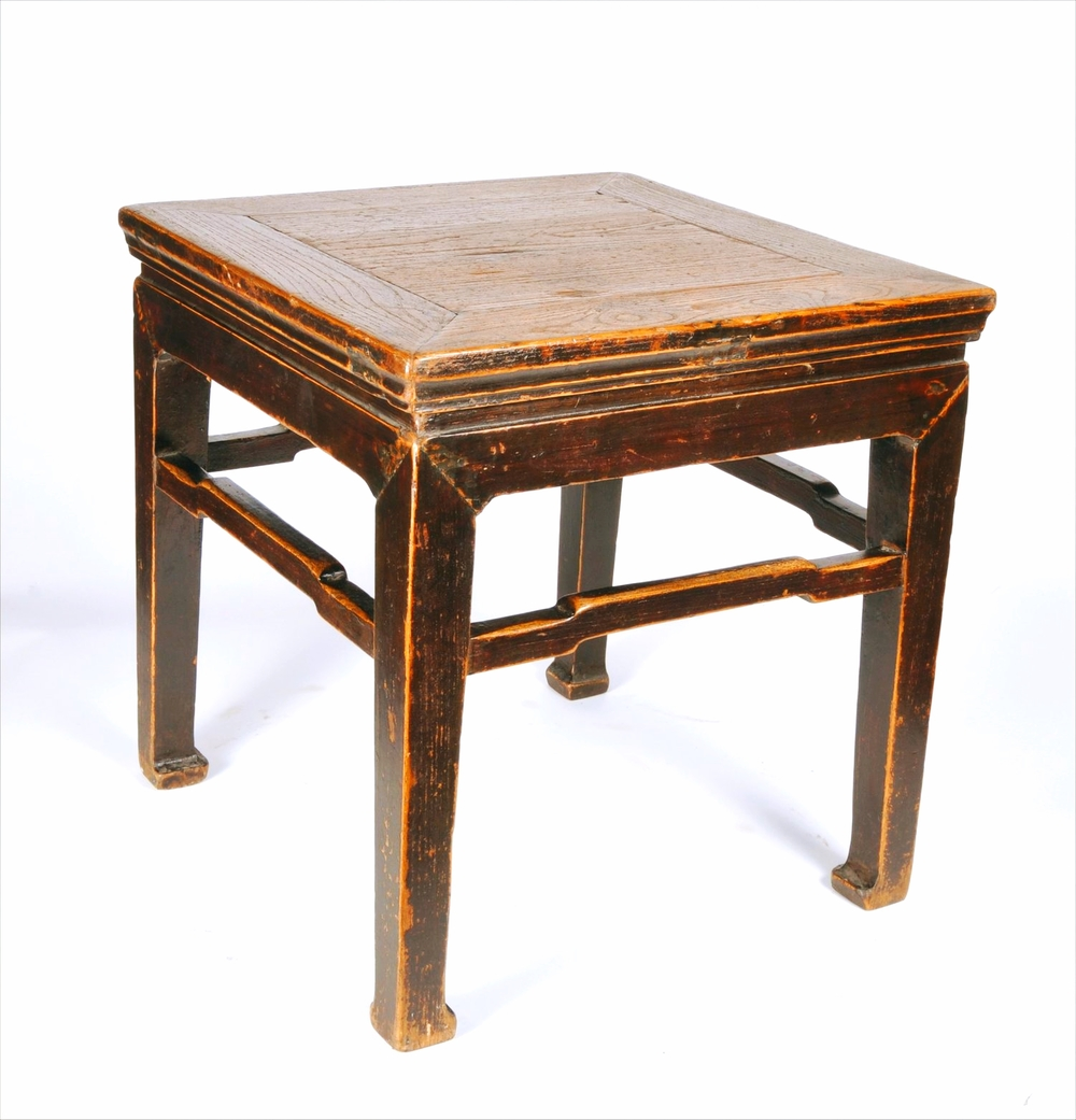 Antique Chinese Stool / End Table Circa 1890u0027s