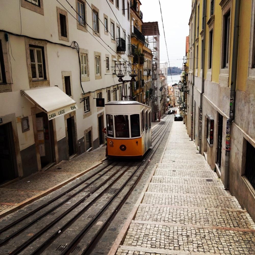 夏の初リスボン