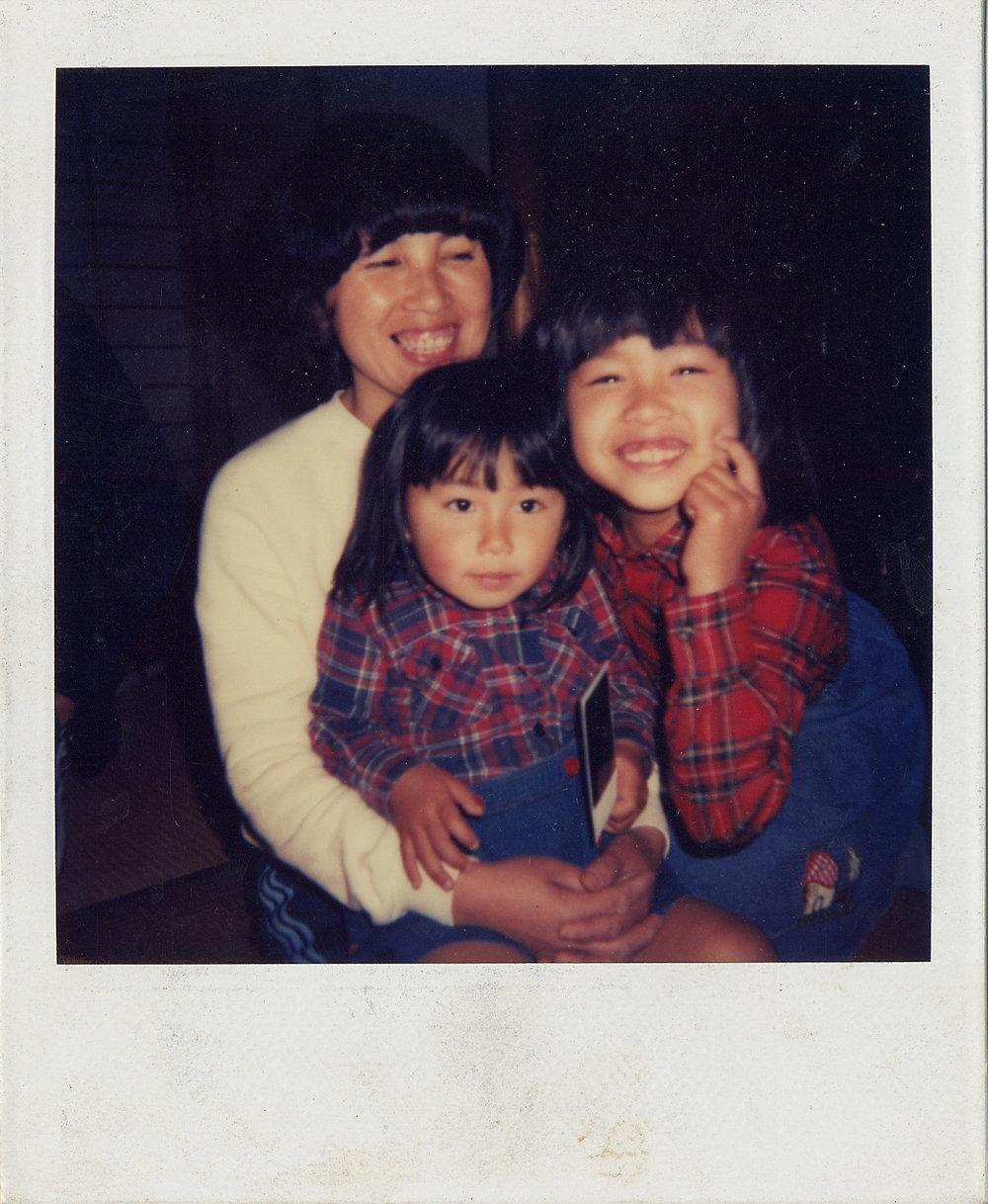 母と姉と 幸せ時代