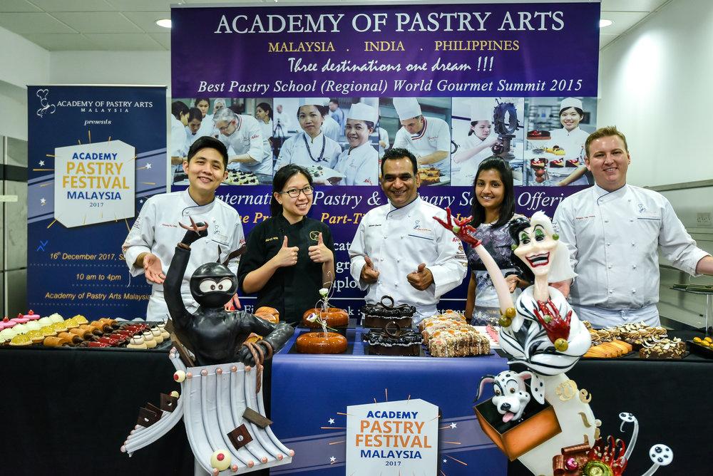 Group Photo-From Left(Chef Chong Ko Wai)(Xiaoly Koh)(Chef Niklesh)(Ms.Sandra Jane)(Chef Angelo).jpg