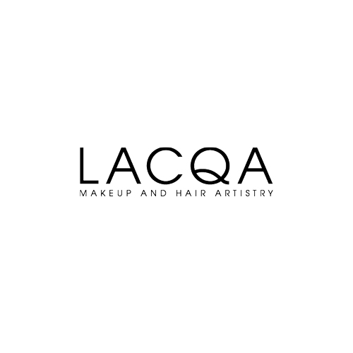 Logo for 'Lacqa' makeup and hair artistry