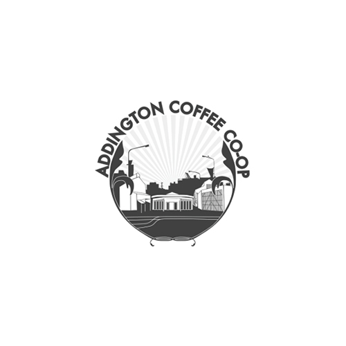 Logo for 'Addington Coffee Co-op' cafe