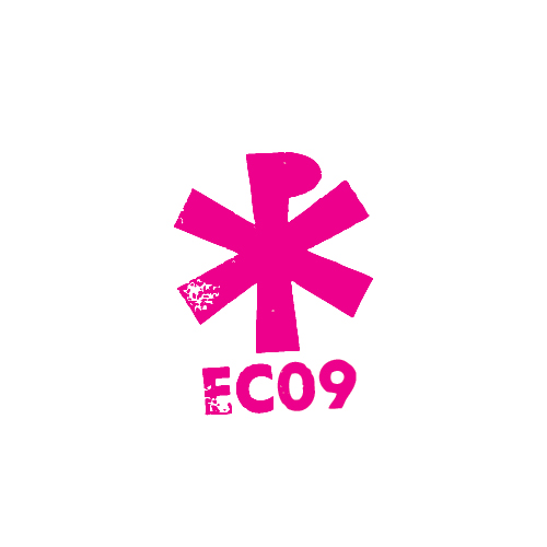 Logo for 'Easter Camp 09'