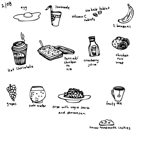 food dairy #1