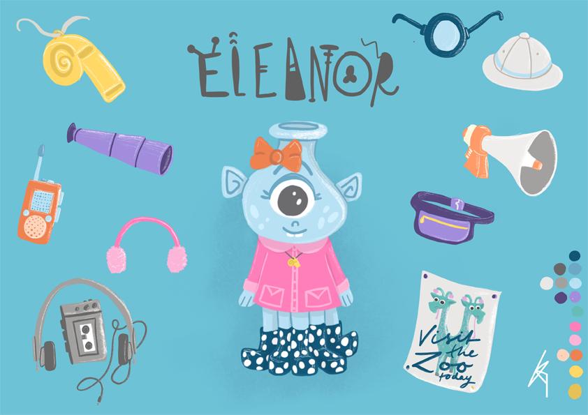 Eleanor the Alien