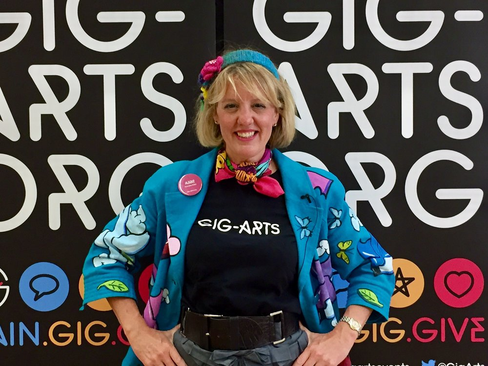 """ Thank you everyone for making this such a wonderful event!""  Abbie Cooke, Founder of Gig-Arts"