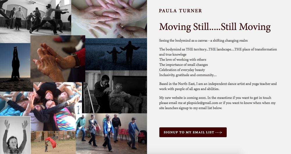 Paula Turner - Website Coming Soon Page