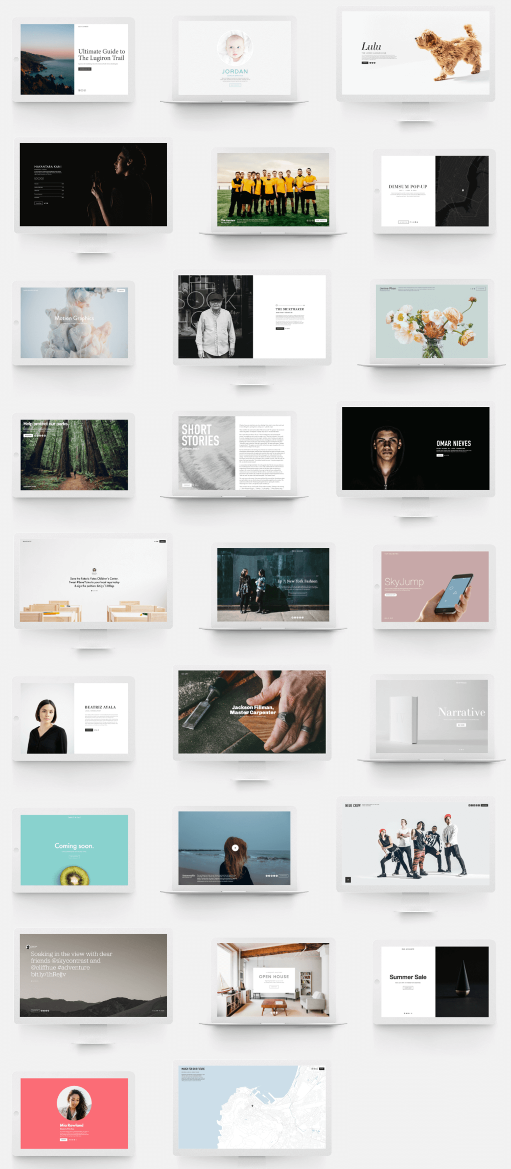 how to use squarespace cover pages