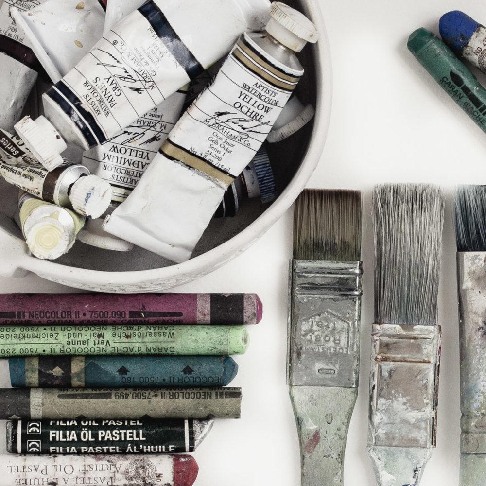 artist favourite supplies