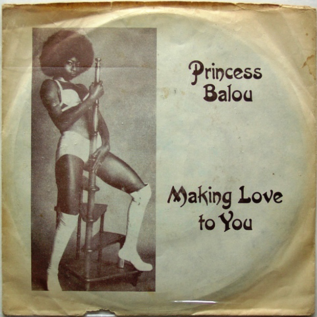 Seeing Princess Balou's record cover I was reminded of Betty Davis yet again. Surely this was not a coincidence? The picture below is of Betty Davis taken by Fin Costello (copyright)