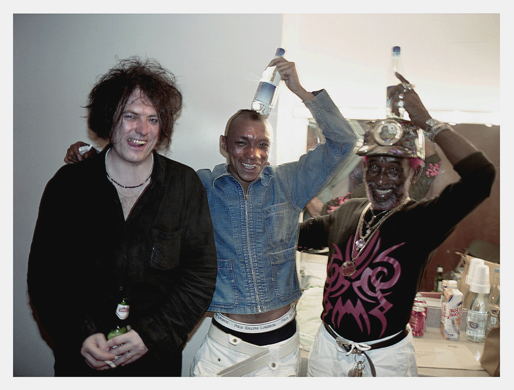 Robert Smith, Tricky, Lee 'Scratch' Perry