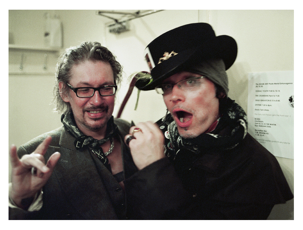 Zodiac Mindwarp with Adam Ant