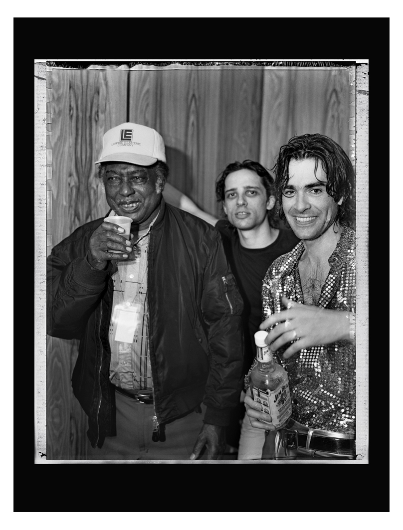 R.L. Burnside with Jon Spencer and Judah Bauer