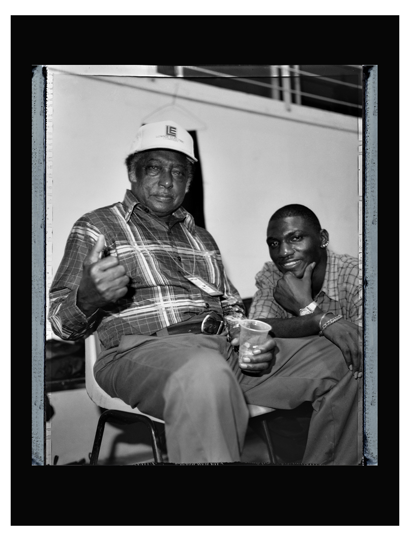 R.L. Burnside with Cedric Burnside