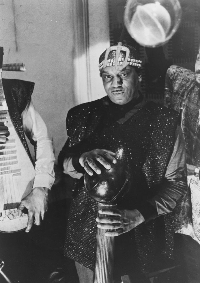 When I came across this picture on the internet of Sun Ra it raised my doubts.