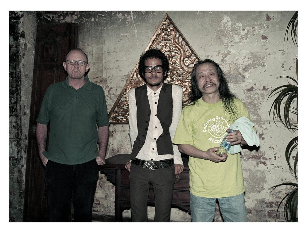 w/ Chris Abrhams & Omar Rodriguez Lopez 2006