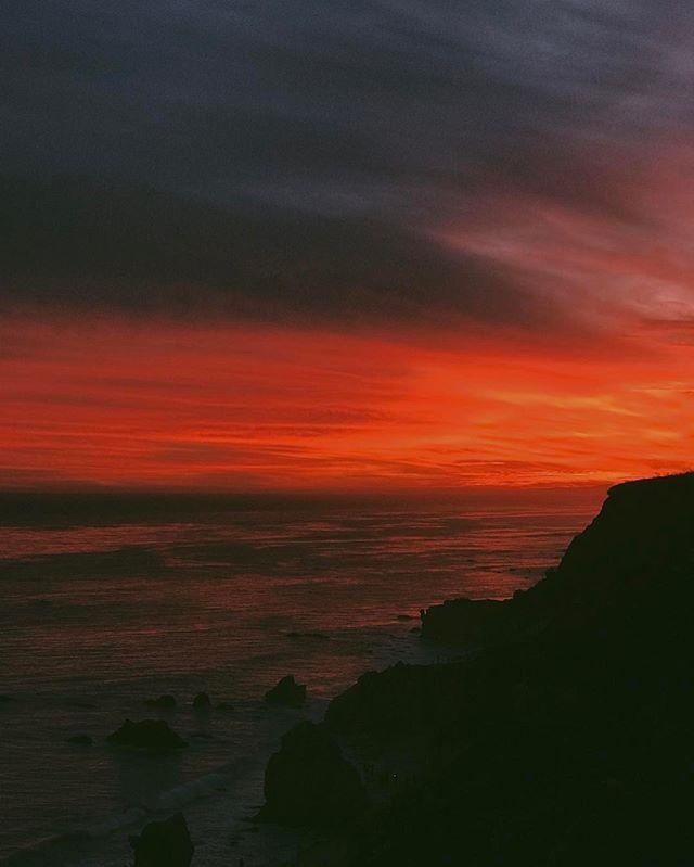 #losangeles #la #usa #travel #sunset #malibu #cali #california #vsco #view #landscape #sea #vscocam #vscogrid